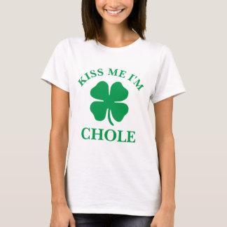Gepersonaliseerd kus me St. Patrick het Overhemd T Shirt