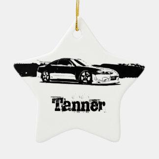 Gepersonaliseerd Nissan Silvia Keramisch Ster Ornament