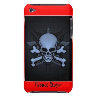 Gepersonaliseerd! schedel cRoSsBoNz IPOD AANRAKING iPod Touch Hoesje