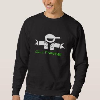 Gepersonaliseerd sweatshirt | van DJ van de Muziek