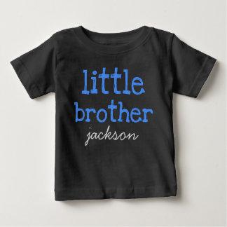 Gepersonaliseerd voeg een Blauwe Tekst van de Naam Baby T Shirts