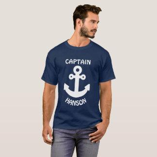 Gepersonaliseerd Wit Anker T Shirt