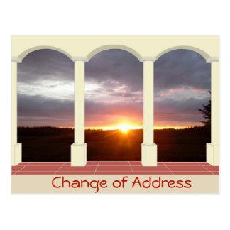 Gepersonaliseerde Adreswijziging Briefkaart
