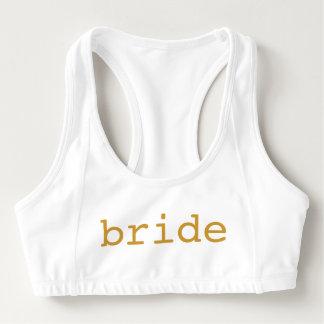 Gepersonaliseerde Bruid Sport BH