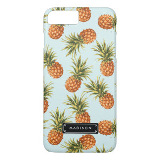 Gepersonaliseerde de Ananas van de munt iPhone 7 Plus Hoesje