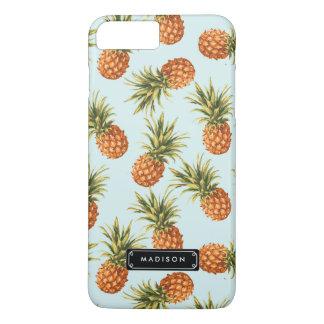 Gepersonaliseerde de Ananas van de munt iPhone 8/7 Plus Hoesje