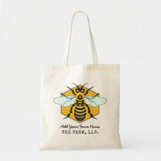 Gepersonaliseerde de Bijenstal van het Boerderij Draagtas