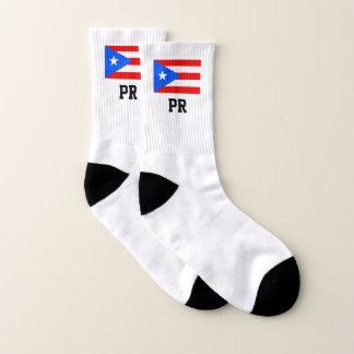 Gepersonaliseerde de douanesport van Puerto Rico Sokken