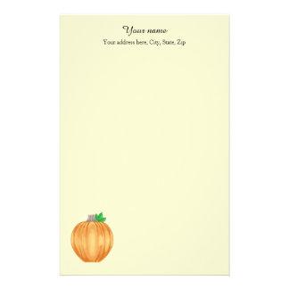 Gepersonaliseerde de pompoen van de herfst briefpapier
