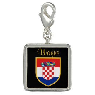 Gepersonaliseerde de Vlag van Kroatië Foto Charm