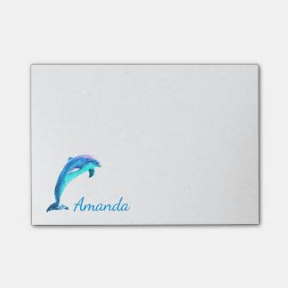 Gepersonaliseerde dolfijn post-it® notes