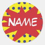 Gepersonaliseerde Grappige Stickers