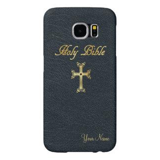 Gepersonaliseerde Heilige Bijbel Samsung Galaxy S6 Hoesje
