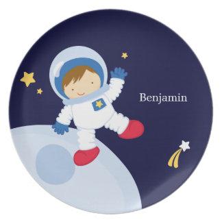 Gepersonaliseerde het Kind van de Astronaut van de Bord