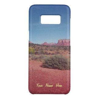 Gepersonaliseerde het Uitzicht van de woestijn Case-Mate Samsung Galaxy S8 Hoesje