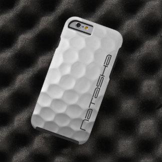 Gepersonaliseerde iPhone 6 van de Golfbal hoesje