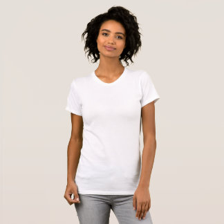 Gepersonaliseerde Large Dames Boothals T Shirt