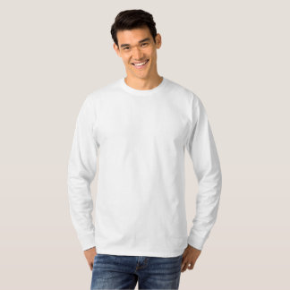 Gepersonaliseerde Large Lange Mouw T Shirt