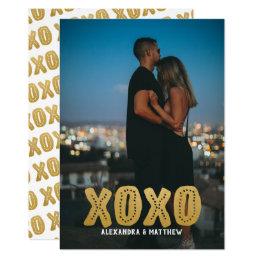 Gepersonaliseerde Liefde XOXO Kaart