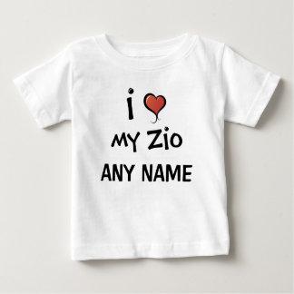 Gepersonaliseerde Liefde Zio Baby T Shirts