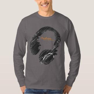 gepersonaliseerde mode DJ T Shirt