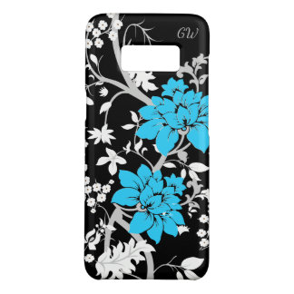Gepersonaliseerde Moderne bloemen Case-Mate Samsung Galaxy S8 Hoesje