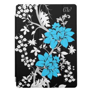 Gepersonaliseerde Moderne bloemen iPad Pro Cover