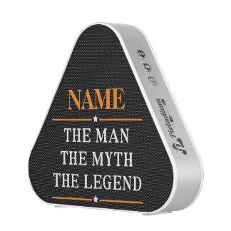 Gepersonaliseerde Naam het Man de Mythe de Legende Bluetooth Luidspreker