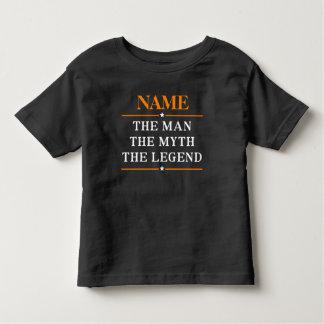 Gepersonaliseerde Naam het Man de Mythe de Legende Kinder Shirts