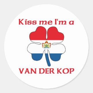 Gepersonaliseerde Nederlands kust me ik ben Van Ronde Sticker