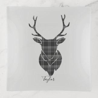 Gepersonaliseerde Patroon van het Geruite Schotse Sierschaaltjes