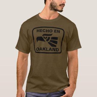 Gepersonaliseerde personalizadodouane van Oakland T Shirt