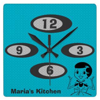 Vintage keukenklok cadeaus t shirts kunst posters andere cadeau idee n zazzle - Gepersonaliseerde keuken ...