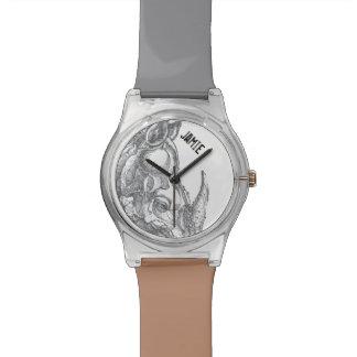 Gepersonaliseerde Rinoceros Horloge