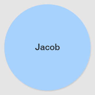 Gepersonaliseerde Sticker van de Naam van Jacob de