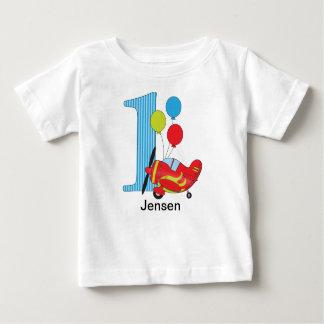 Gepersonaliseerde T-shirt van de Verjaardag van