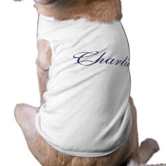 Gepersonaliseerde van de het huisdierenhond van de shirt