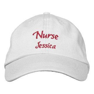 Gepersonaliseerde verpleegster geborduurde pet