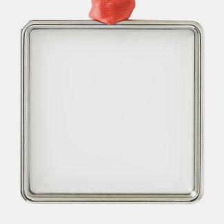 Gepersonaliseerde Vierkant Ornament