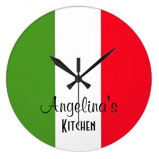 Gepersonaliseerde Vlag van Italië om de Klok van d