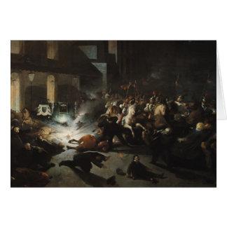 Geprobeerde Moord van Keizer Napoleon Wenskaart