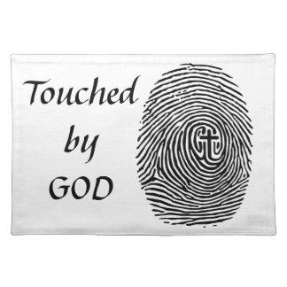 Geraakt door God Placemat