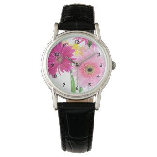 Gerbera Daisy Pink Horloge