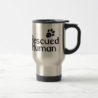 Gered Menselijk Hondenliefhebber Reisbeker