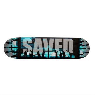 Geredde het Christelijke dek schaatsende raad van Skateboard Deck