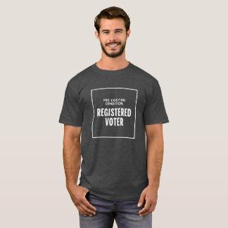 Geregistreerde Kiezer T Shirt