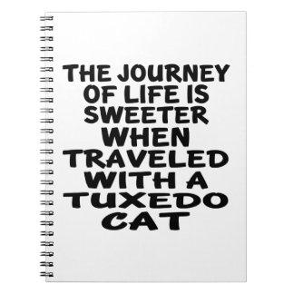 Gereist met de Kat van de Smoking Notitieboek