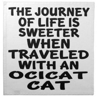 Gereist met Kat Ocicat Servet