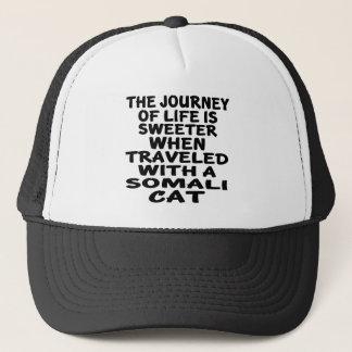 Gereist met Somalische Kat Trucker Pet