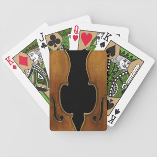 Gereproduceerde Stradivarius, de Gedeeltelijke Poker Kaarten